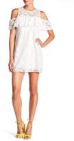 Trixxi Crochet Cold Shoulder Dress