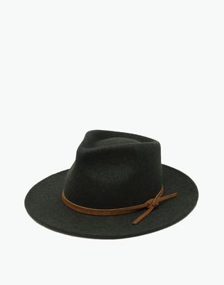 Madewell WYETH Wool Rory Fedora Hat