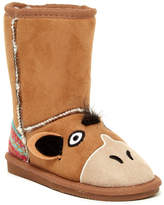 Muk Luks Scout Horse Faux Fur Lined Boot (Toddler & Little Kid)