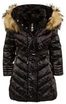 MonnaLisa Black Quilted Coat