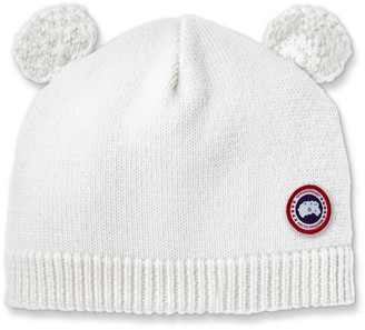 Canada Goose Baby's Knit Hat w/ Crochet Animal Ears