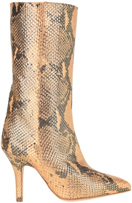 Paris Texas Pointed Toe Knee Length Boots