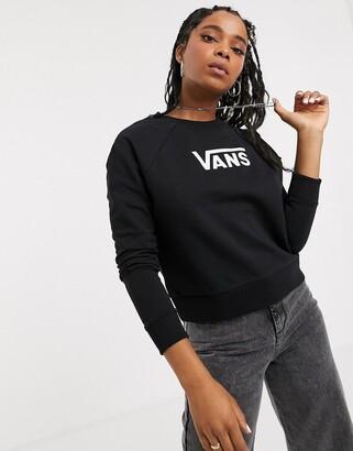 Vans Flying V boxy black sweatshirt