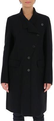 Ann Demeulemeester Asymmetric Buttoned Coat