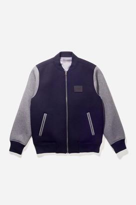 Saturdays NYC Welsh Bonded Varsity Jacket