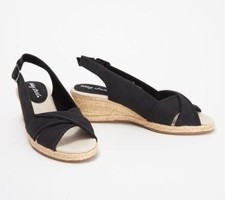 Earth Easy Street Wedge Sandals - Maureen