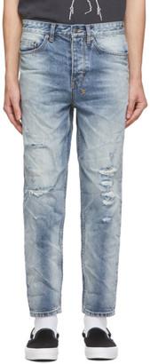 Ksubi Blue Bullet Rustik Jeans