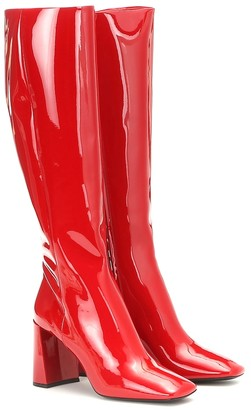 Prada Patent-leather boots