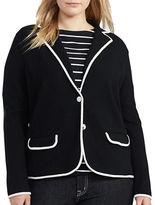 Lauren Ralph Lauren Plus Alvrta Cotton-Blend Jacket