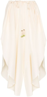 Etro Asymmetric Drawstring Skirt