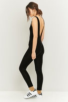 Sparkle & Fade Skinny Black Velvet Unitard
