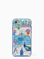 Kate Spade Jeweled garden iphone 7 case