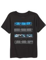 Quiksilver Boy's Read Between Logo T-Shirt