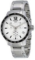 Tissot Men's T0954171103700 Quickster Analog Display Swiss Quartz Silver Watch