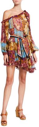 Zimmermann Fiesta Swing Silk Dress