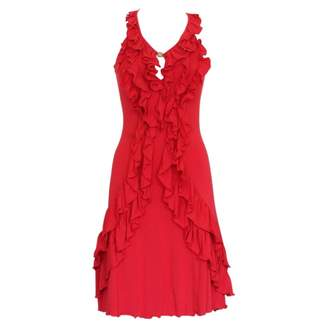 N. Non Signé / Unsigned Non Signe / Unsigned \N Red Cotton Dresses