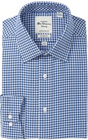Ben Sherman Houndstooth Tailored Slim Fit Dress Shirt