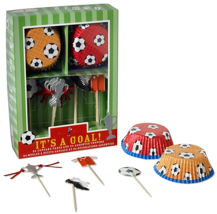 Williams-Sonoma Soccer Cupcake Decorating Kit