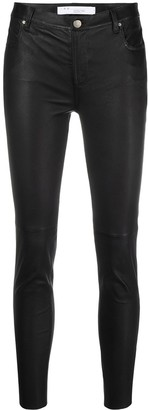 IRO Quartz leather trousers