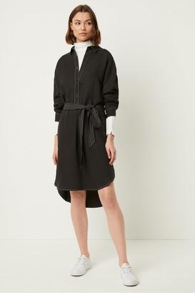 French Connection Milana Caspia Linen Blend Shirt Dress