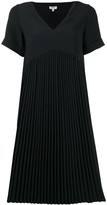 Kenzo pleated T-shirt dress