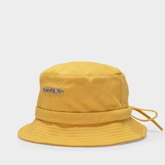 Jacquemus Le Bob Gadjo Hats In Yellow