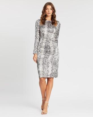 Atmos & Here Rosie Snake Dress