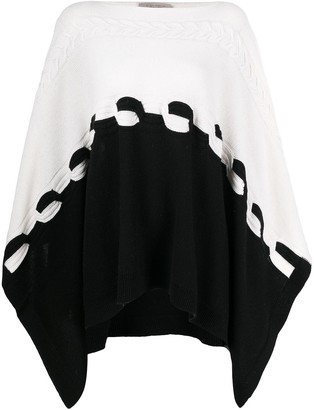 D-Exterior Braided Colour-Block Jumper