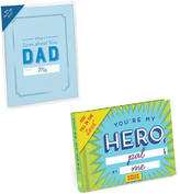 Knock Knock Love About Dad Fill in Love Card Booklet & Hero Journal