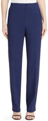 Dries Van Noten White Stripe Pants