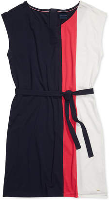 Tommy Hilfiger Adaptive Women Bold Stripe Dress with Magnetic Buttons