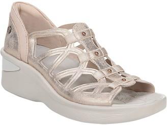 Bzees BZees Gladiator-Style Wedge Sandals - Sasha