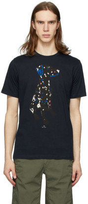 Paul Smith Navy Dalmatian Regular-Fit T-Shirt