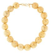 Kenneth Jay Lane Textured Bead Necklace