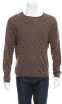 Golden Goose Deluxe Brand Dot Print Scoop Neck Sweater