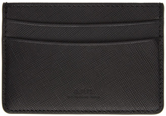 A.P.C. Black Andre Card Holder