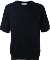 Cerruti ribbed stitch T-shirt