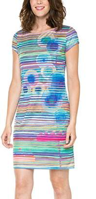 Desigual Women's ULTRA Knee-Length key A-Line Dress,(Manufacturer Size: M)