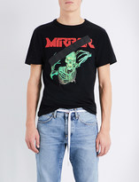 Off-White Skeleton-print cotton-jersey t-shirt