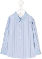Gucci Kids striped button down shirt