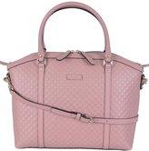 Gucci Women's Leather Micro GG Guccissima Crossbody Dome Purse (Soft )