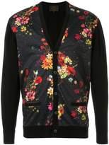 Loveless floral print cardigan