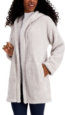 32 Degrees Hooded Fleece Cardigan