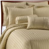Wamsutta Damask Stripe Wheat Mini Comforter Set, 100% Egyptian Cotton