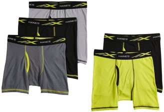 Hanes Boys 4-20 5-Pack Boxer Briefs