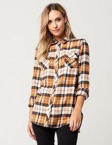 Volcom Desert Fly Womens Flannel Shirt