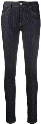 Just Cavalli logo skinny-fit jeans
