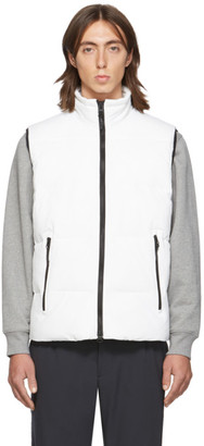 The Very Warm SSENSE Exclusive White Quilted Vest