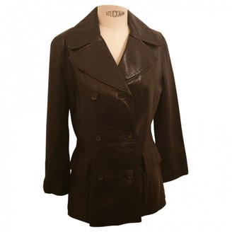 Andrew Marc Black Leather Jacket for Women