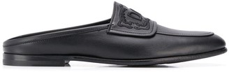 Dolce & Gabbana Leather Slip On Loafers